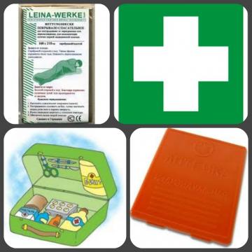 Аптечки первой помощи. Спасательное покрывало изотермическое LEINA-WERKE