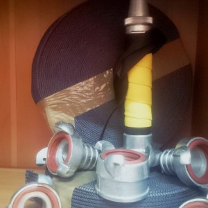 """""""ПЧЕЛА"""" Комплект спортивных рукавов для 100 метровой полосы по пожарно-прикладному спорту"""