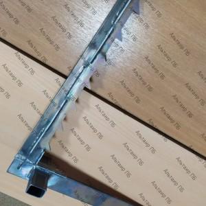 Крюк титановый спортивный для лестницы штурмовой для соревнований по ППС