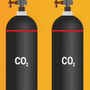 Ваш пустой баллон 40 л. на Наш полный баллон 40 л. с углекислотой с доставкой