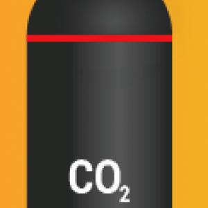 Баллон углекислотный пустой 40 л.