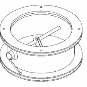 КГ-200 клапан герметический вентиляционный облегченного типа