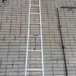 Лестница штурмовая спортивная с титановым крюком для соревнований по ППС